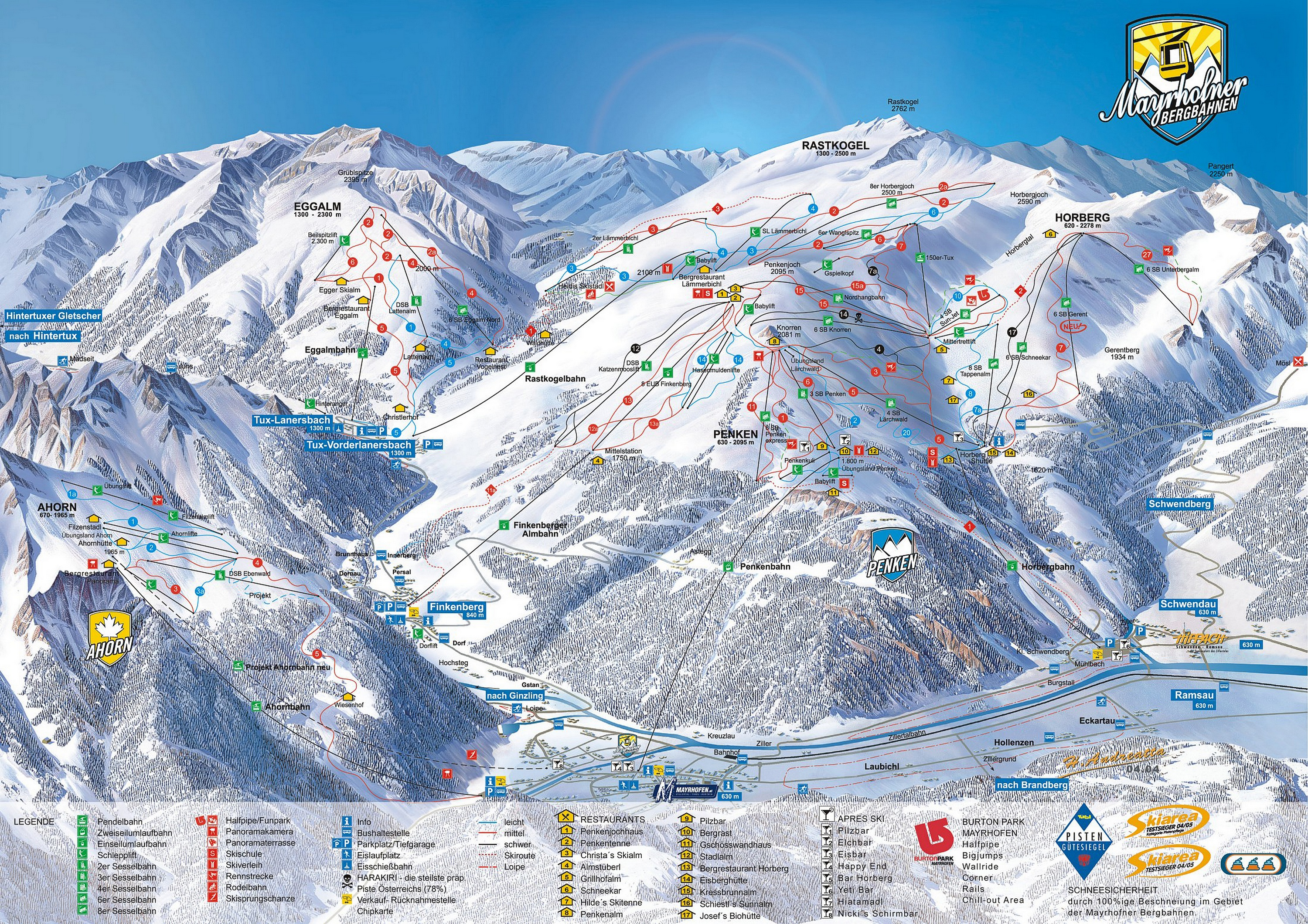 how to read a piste map (guide) - ski club of great britain