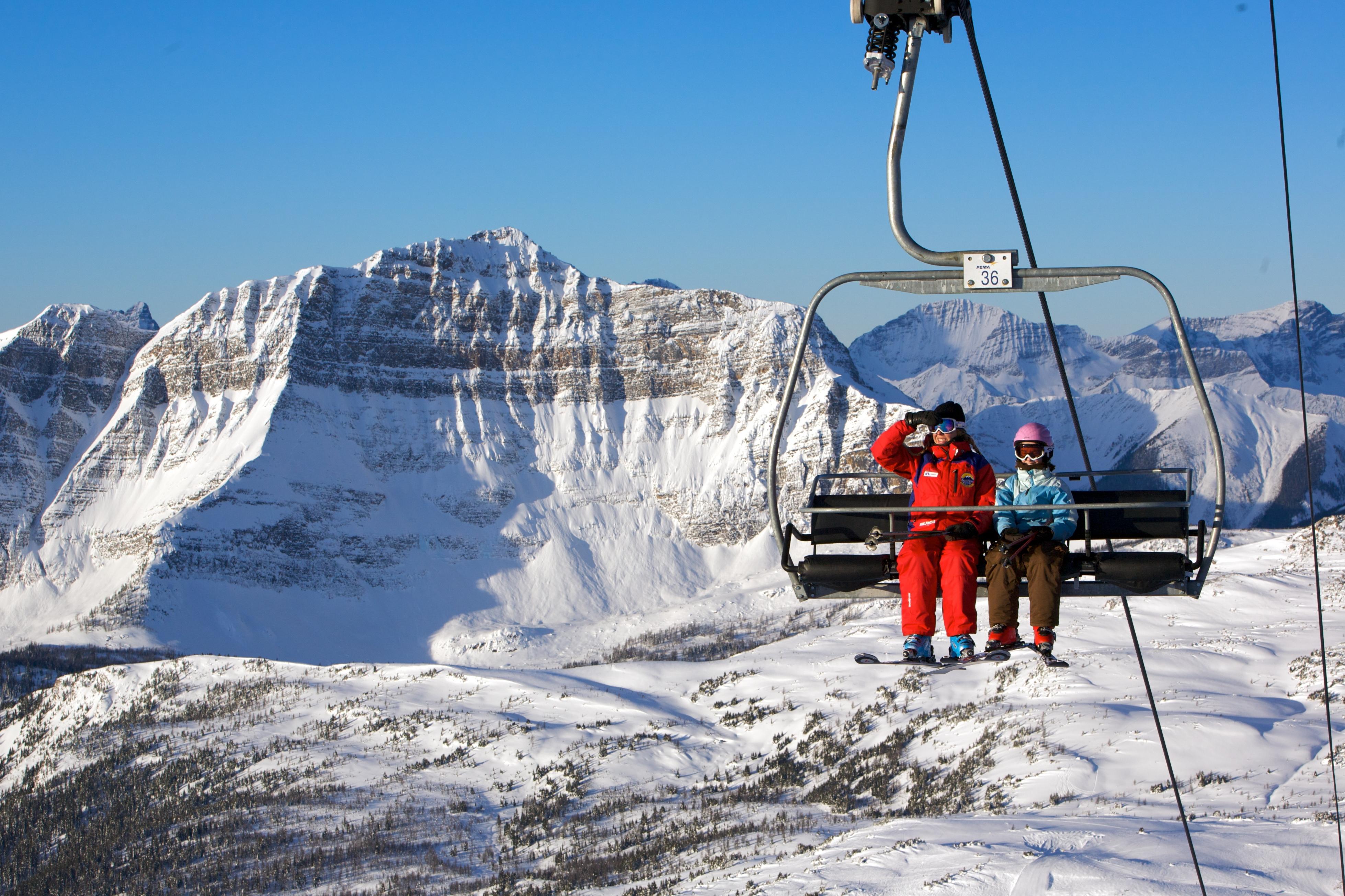 banff - sunshine village - ski club of great britain
