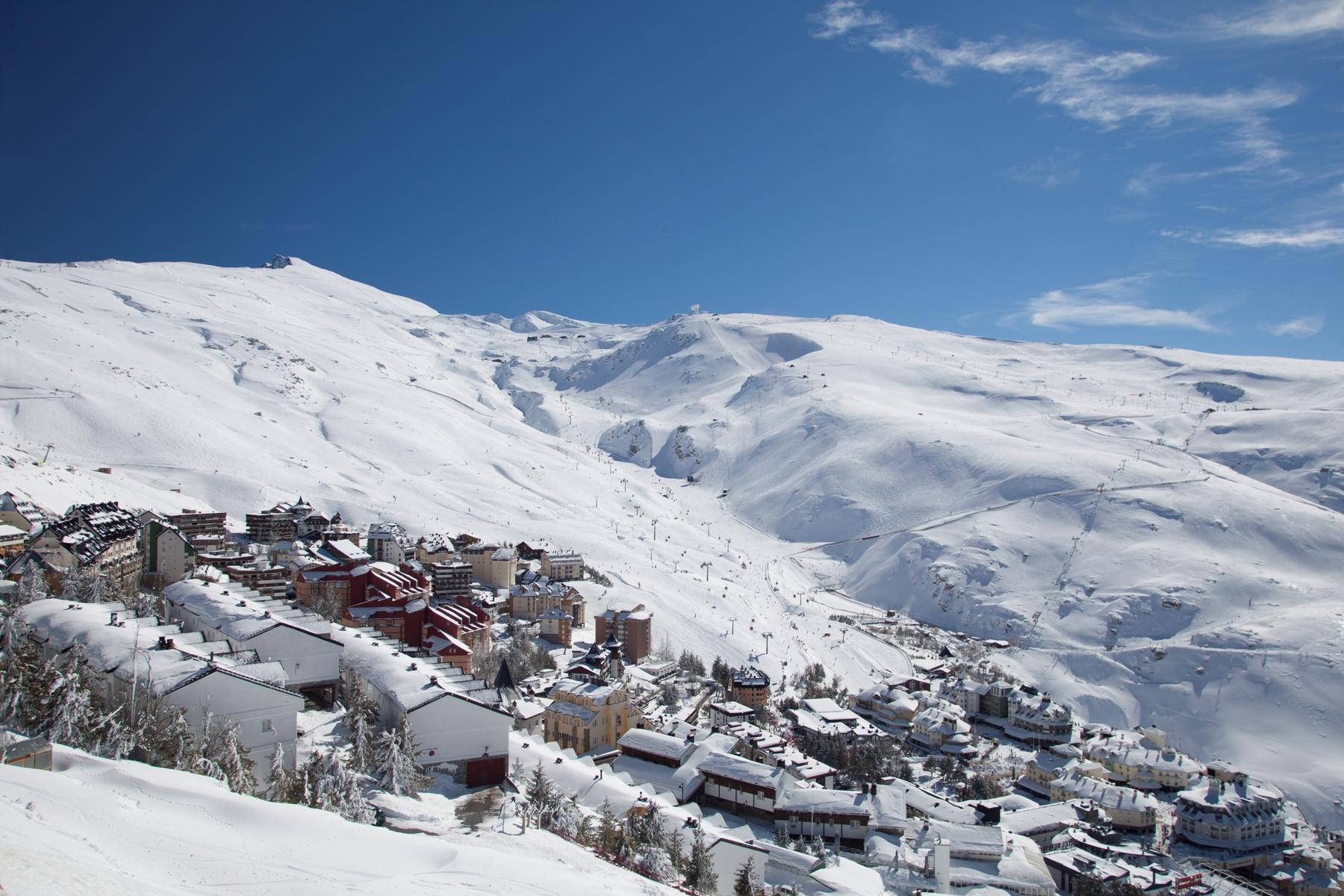 sierra nevada - ski club of great britain